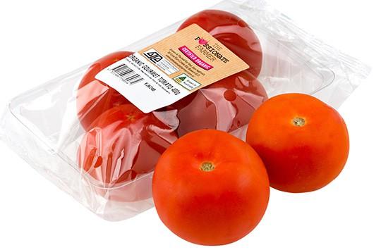 organic gourmet tomatoes